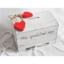 Svatební pokladnička-kasička