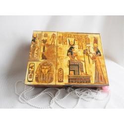 Čajová krabička - Egypt