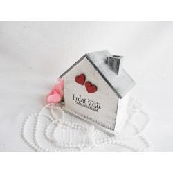 Svatební pokladnička - domeček