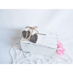 Svatební pokladnička se srdci- skladem