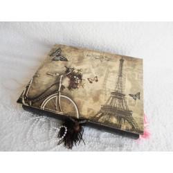 Velká Vintage šperkovnice - Paříž