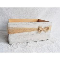 Dřevěná bedýnka - box