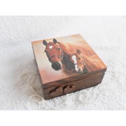 Dárková krabička - koně